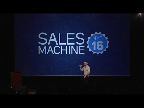 Gary Vaynerchuk Keynote Video NYC 16 Sales Machine Everything You Do Is Sales
